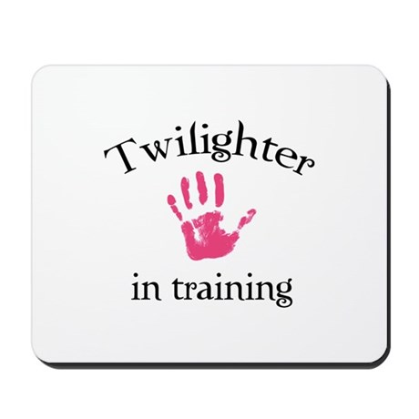 Twilighter in training Mousepad