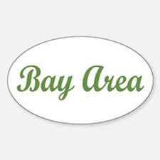 BAY AREA SC Oval Decal