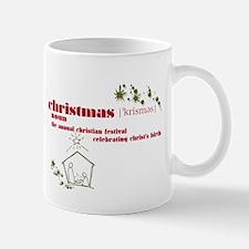 Christmas Definition Mug