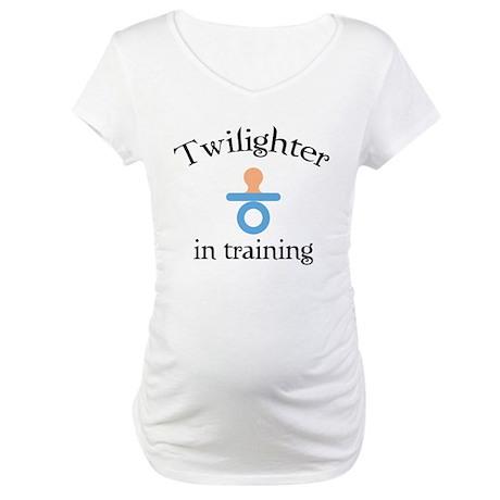 Twilighter in training Maternity T-Shirt