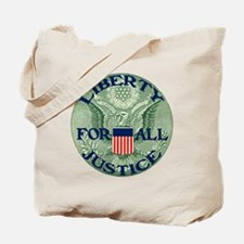 Liberty & Justice for All Tote Bag