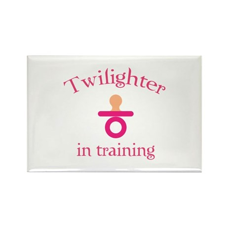 Twilighter in training Rectangle Magnet