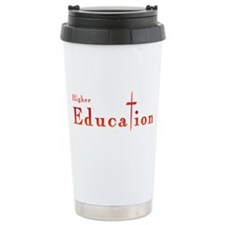 Higher Education Cross Travel Mug