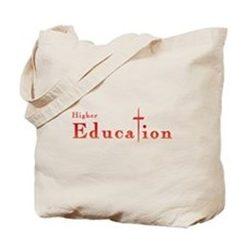 Higher Education Cross Tote Bag