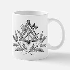 Masonic Working Tools & Laurel Mug (Left hand)
