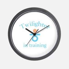 Twilighter in training Wall Clock