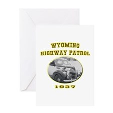 Wyoming Highway Patrol Greeting Card