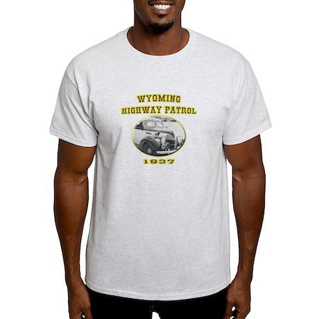 Wyoming Highway Patrol Light T-Shirt