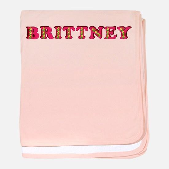 Brittney baby blanket