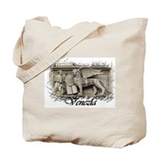 Winged Lion of Venice Tote Bag
