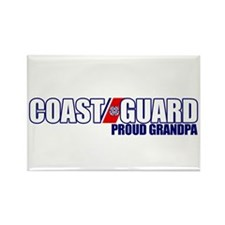USCG Grandpa Rectangle Magnet