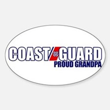 USCG Grandpa Sticker (Oval)