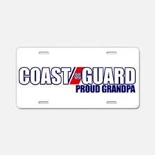 USCG Grandpa Aluminum License Plate