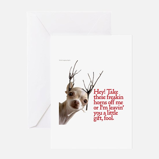 Horns Greeting Card