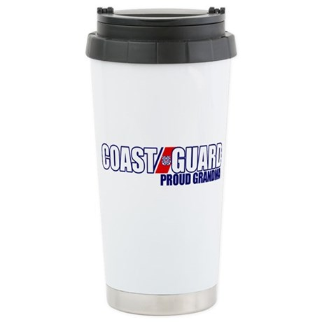 USCG Grandma Stainless Steel Travel Mug