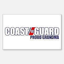 USCG Grandma Sticker (Rectangle)