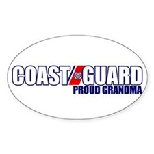 USCG Grandma Decal