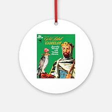 Camelot Cigar Label Ornament (Round)