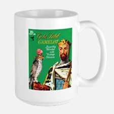 Camelot Cigar Label Large Mug