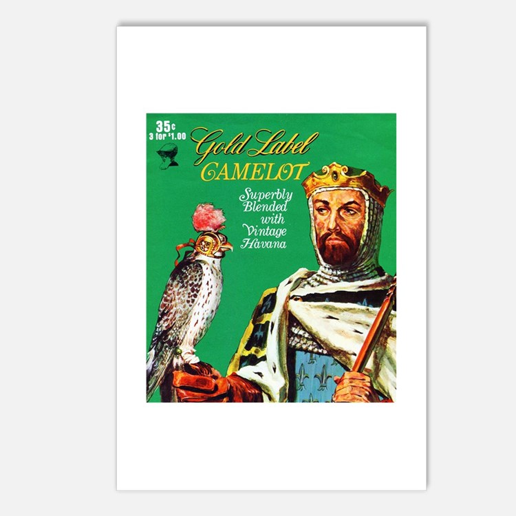 Camelot Cigar Label Postcards (Package of 8)