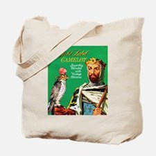 Camelot Cigar Label Tote Bag