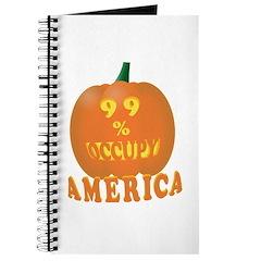 occupy 99% pumpkin Journal