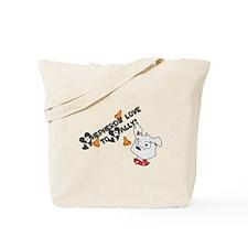 Shepherds Love to Rally Tote Bag