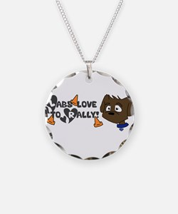 Labs love to Rally Necklace