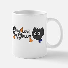 Labs love to Rally Mug