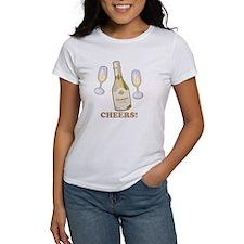 Cheers Champagne Tee