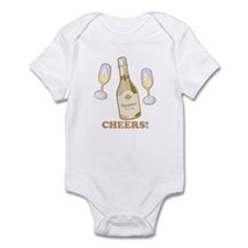 Cheers Champagne Infant Bodysuit
