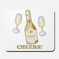 Cheers Champagne Mousepad