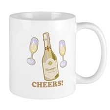 Cheers Champagne Mug