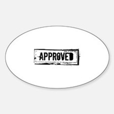 Approved Decal
