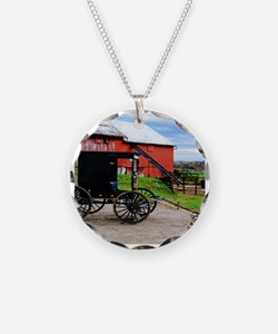 Country Scene Necklace