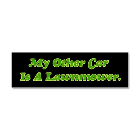 My Other Car Is A Lawnmower Car Magnet 10 x 3