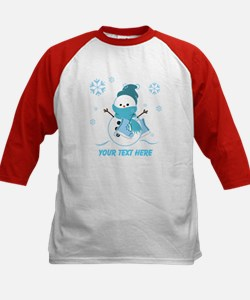 Cute Personalized Snowman Tee