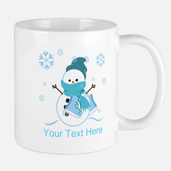 Cute Personalized Snowman Mug