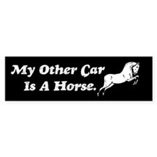 My Other Car Is A Horse Bumper Bumper Sticker