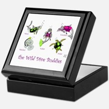 Wild Dive Buddies Keepsake Box