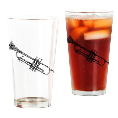 Trumpet, Vintage Drinking Glass