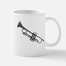 Trumpet, Vintage Mug