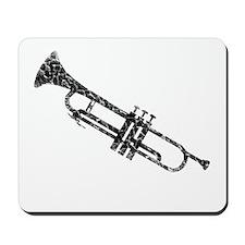 Trumpet, Vintage Mousepad