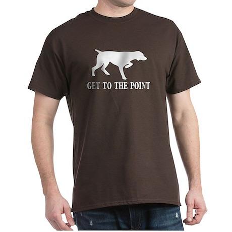 GET TO THE POINT Dark T-Shirt