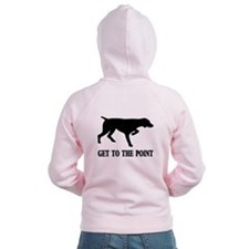 GET TO THE POINT Zip Hoodie