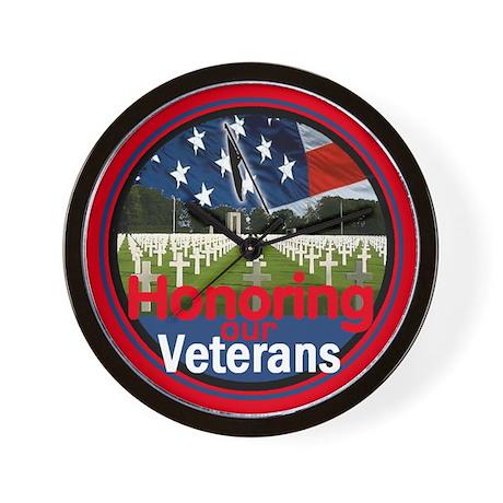 Veterans Wall Clock