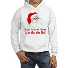Personalized Nice List Hoodie