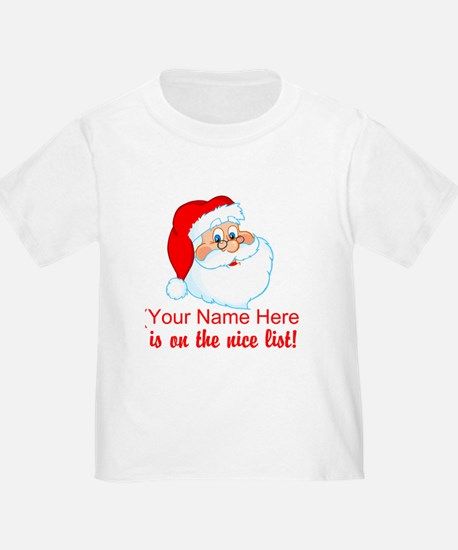 Personalized Nice List T