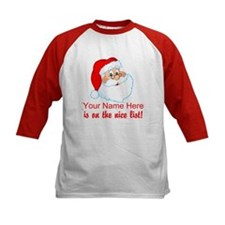Personalized Nice List Tee
