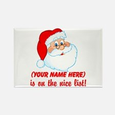 Personalized Nice List Rectangle Magnet (100 pack)